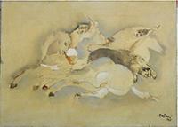Work of Lido Bettarini  La caccia
