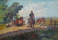 Work of Claudio da Firenze  Butteri a cavallo