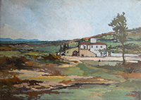 Ugo Bini - Paesaggio