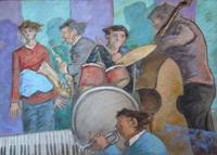 Quadro di Giampaolo Talani  Musicisti Jazz