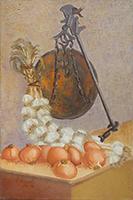Work of firma Illeggibile - Natura morta  oil canvas