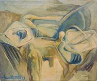Work of Americo Mazzotta - Astratto oil canvas