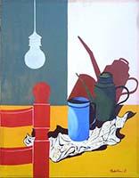 Work of Sirio Midollini - Natura morta oil canvas