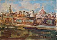 Work of Emanuele Cappello - Firenze oil canvas