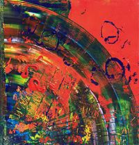 Work of Orsola Rignani - Oltre i dualismi acrylic canvas