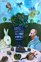 Work of Antonio Possenti - Figure oil table