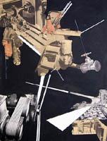 Quadro di Franco Lastraioli - Costruzione mista carta su tela