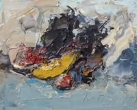 Work of Sergio Scatizzi - Natura oil table