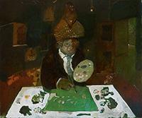 Antonio Possenti - Nello studio del pittore