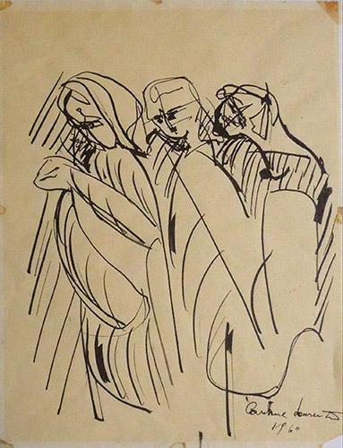 Carmine Laurentis - Tre figure