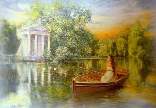 Quadro Di Andrea Alfani Oltre I Confini Di Un Sogno Romantico