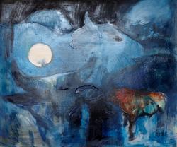 Mostra personale - exhibition Elga Grinvalde (in arte Ellgrii)