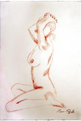 Scuola di nudo - exhibition Mauro Papale