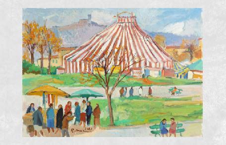 <br /><br />Circo Orfei<br /><br /><em>Rodolfo Marma</em>