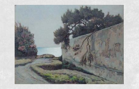 <br /><br />Scorcio sul mare<br /><br /><em>Gino Romiti</em>