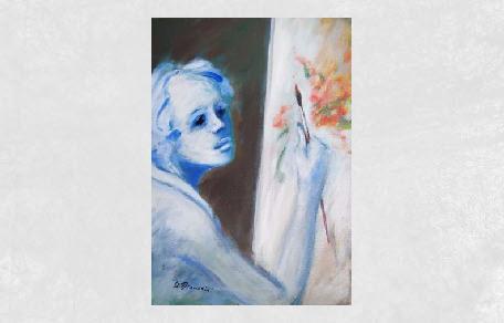 <br /><br />La pittrice<br /><br /><em>Umberto Bianchini</em>
