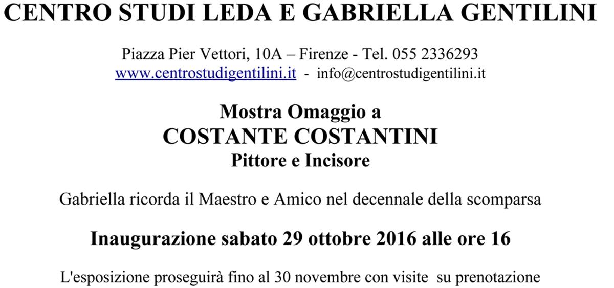 Invito Mostra Costantini