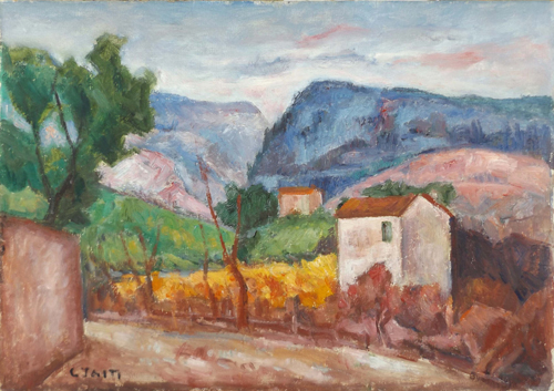 Quadro di Giuseppe Taiti Paesaggio - Pittori contemporanei galleria Firenze Art