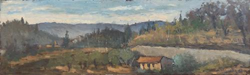 Quadro di Maurizio Martelli  Paesaggio - olio faesite