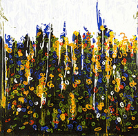 Work of Mario Schifano  Splendore del floricoltore