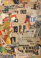Quadro di Rodolfo Marma - Manifesto  collage carta