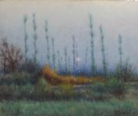Quadro di Tullio Bartoli - Paesaggio olio tavola