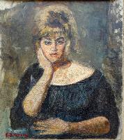 Quadro di Guido Borgianni - Clara  olio tela