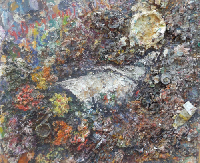 Quadro di Guido Borgianni - Cartoccio di fiori olio tela