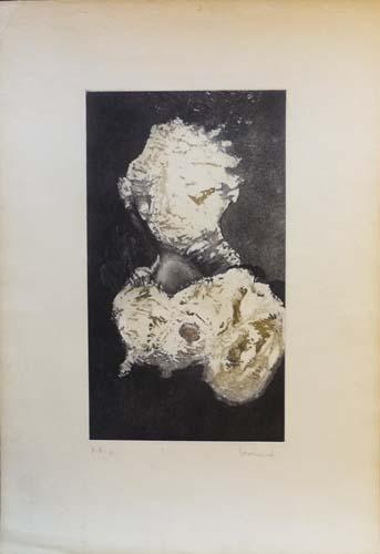 Quadro di . Lombardi Astratto - litografia carta