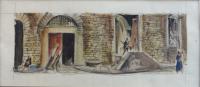 Work of Rodolfo Marma  Angolo di piazza Peruzzi - Firenze