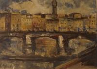 Work of Emanuele Cappello  Ponte sull'Arno - Firenze