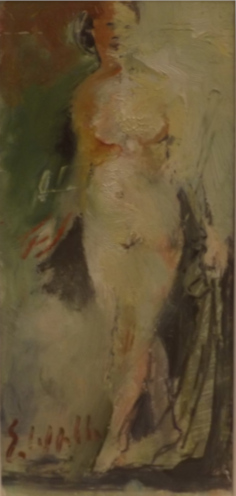 Quadro di Emanuele Cappello Nudo femminile - Pittori contemporanei galleria Firenze Art