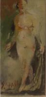 Quadro di Emanuele Cappello  Nudo femminile