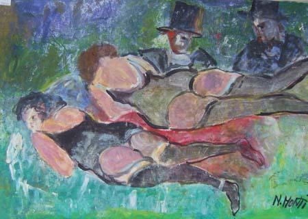 Quadro di Nadia Monti Guardoni - olio tela