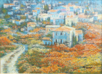 Work of  Behrens - Toscana oil canvas