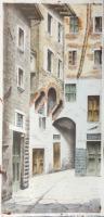 Cioni  - Chiasso della Coroncina - Firenze antica