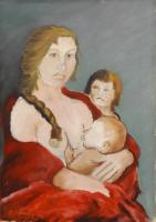 Quadro di Pancrazio Spinelli  Maternità