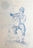 Work of Riccardo Ghiribelli - Musicista  china paper