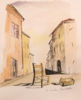 Quadro di Riccardo Ghiribelli  Paesaggio