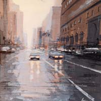 Work of Claudio Cionini  Per strada a New york