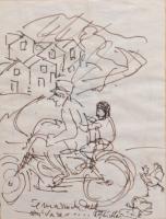 Quadro di Paulo Ghiglia  Motocicletta