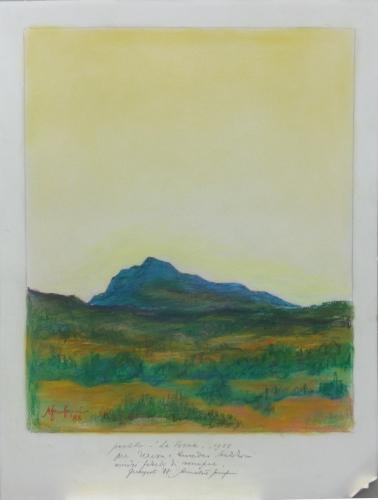 Artwork by Amintore  Fanfani, pastel on paper | Italian Painters FirenzeArt gallery italian painters