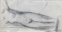 Quadro di Paulo Ghiglia  Nudo senza volto