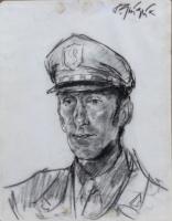 Paulo Ghiglia - Ritratto in uniforme