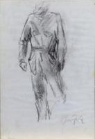Quadro di Paulo Ghiglia  Figura