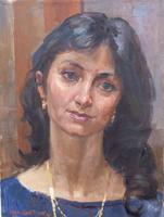 Quadro di Irop Manbroh  Ritratto