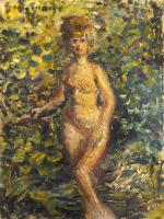 Work of Guido Borgianni - Ritratto di Clara oil canvas