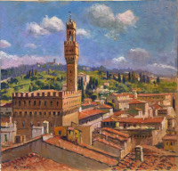 Work of Giacomo Vaccaro - Firenze oil table