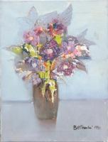 Work of Lido Bettarini - Vaso di fiori  oil canvas