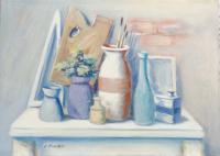 Work of Umberto Bianchini - Composizione  oil canvas